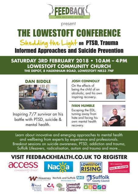 Lowestoft conference poster